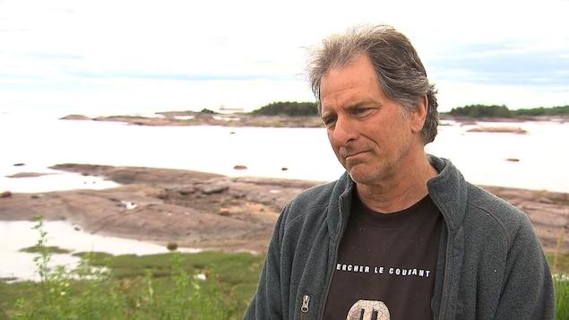 Jacques Gélineau est écologiste et guide de croisières