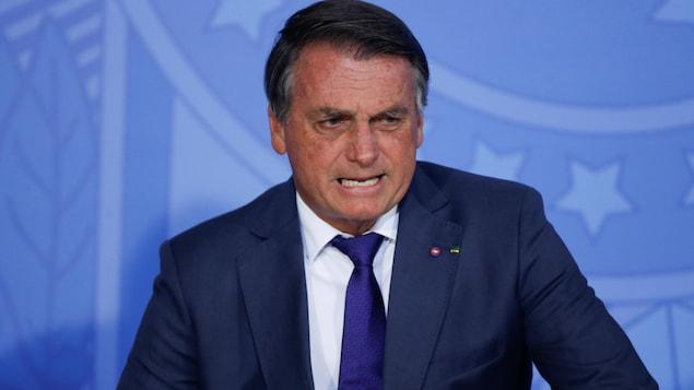 Le président du Brésil Jair Bolsonaro.