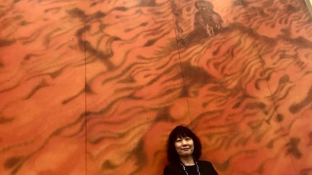 Nobuko Morikawa, fille d'une hibakusha, une victime de la bombe atomique