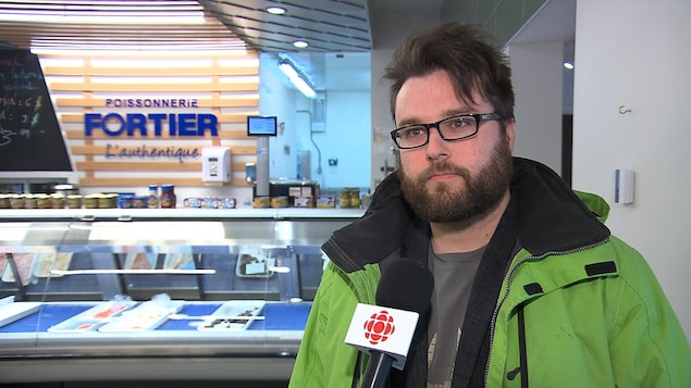 Jean-Christophe Dubreuil, directeur général de la poissonnerie Fortier à Sept-Îles