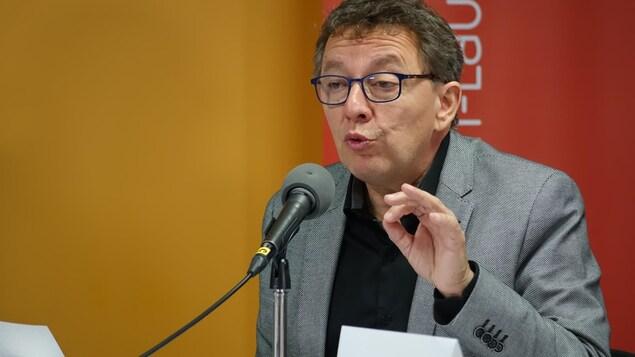 Jean D'Amour, candidat du PLQ.