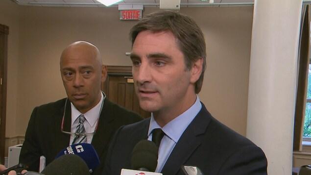 Le chef de Québec 21 Jean-François Gosselin