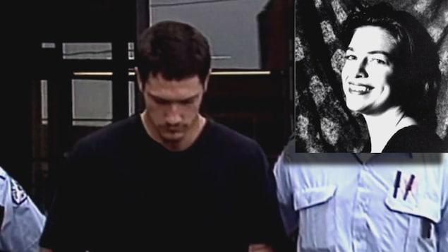 Accompagné de deux autres hommes, Jean-Paul Bainbridge a enlevé, séquestré, violé et tué la Sherbrookoise Isabelle Bolduc (en mortaise) en 1996.