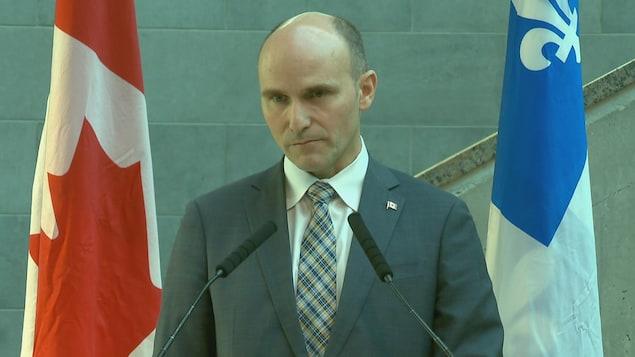 Le ministre de la Famille, des Enfants et du Développement social, Jean-Yves Duclos