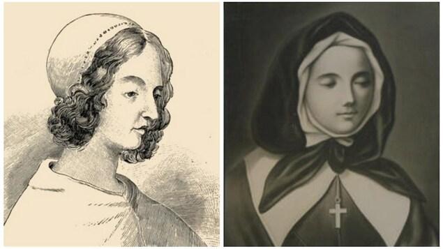 Jeanne Mance et Marguerite Bourgeoys