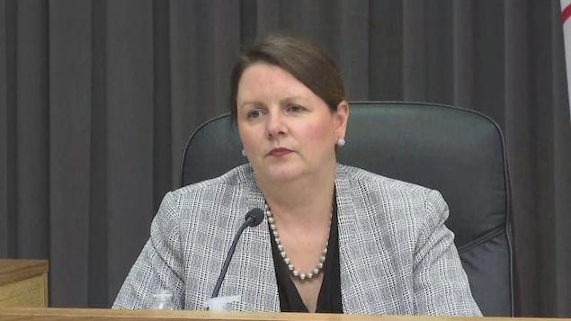 La médecin hygiéniste en chef du Nouveau-Brunswick, la Dre Jennifer Russell.
