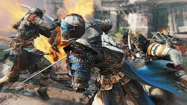 L'une des multiples scènes d'action proposées dans le jeu For Honor.
