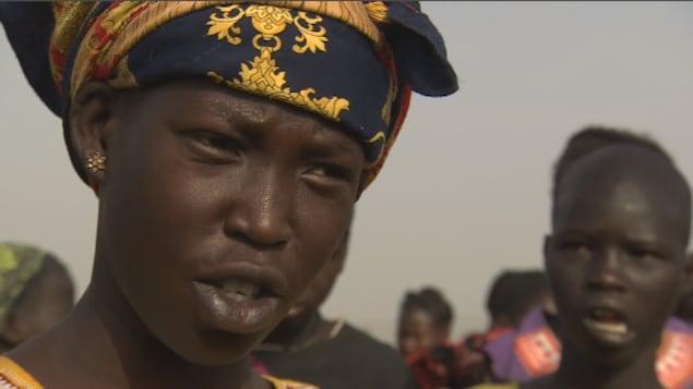 Jeune Sud-Soudanaise