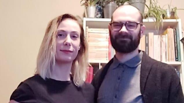 Marion Tétreault-De Bellefeuille et Nicolas Monette