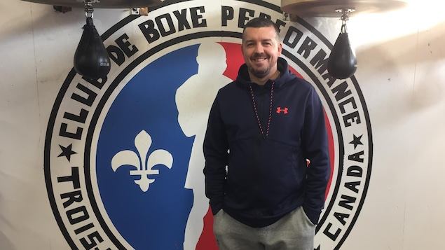 L'entraîneur au Club de boxe Performance Jimmy Boisvert