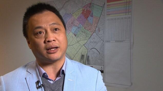 Jimmy Yu, candidat conservateur dans Saint-Laurent