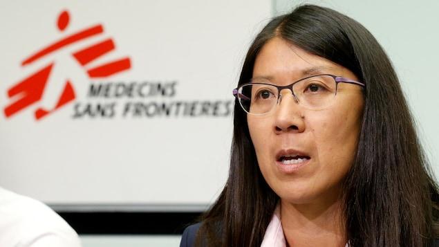 Dre Joanne Liu, présidente internationale de Médecins sans frontières