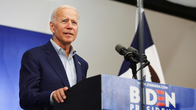Joe Biden au Mississippi Valley Fairgrounds à Davenport, Iowa, États-Unis, le 11 juin 2019.