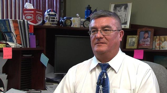 Joe Delaronde, porte-parole du Conseil de bande de Kahnawake