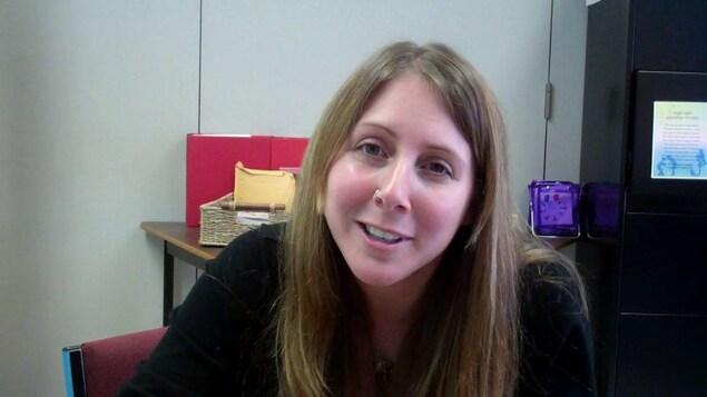 Joeleen Larade, directrice générale du Conseil des arts de Chéticamp