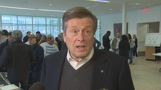Un portrait du maire de Toronto