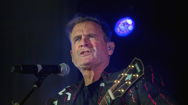 Le chanteur sud-africain Johnny Clegg.