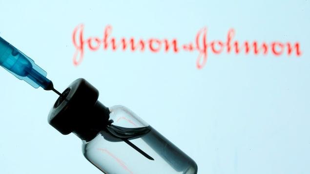 Fiole du vaccin de Johnson & Johnson.