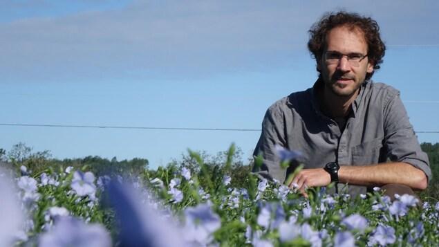 Jonathan Ferté, conseiller au développement agroalimentaire pour la MRC de La Mitis