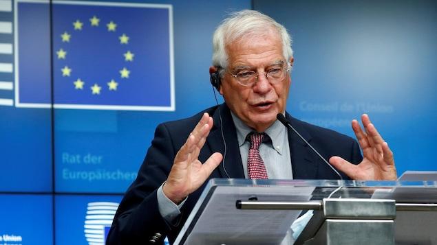 Le chef de la diplomatie européenne Josep Borrel.