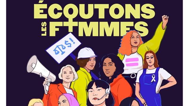 Affiche officielle de la Journée internationale des droits des femmes