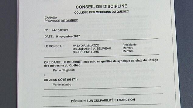 Image du document