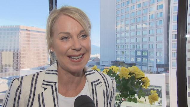 Julie Bédard, présidente de la Chambre de commerce et d'industrie de Québec