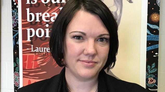 La professeure associée de sociologie à l'Université de la Saskatchewan Julie Kaye