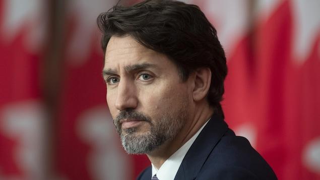 Portrait de Justin Trudeau.