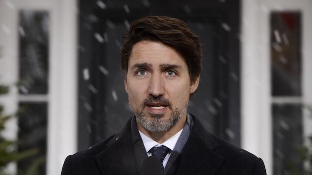 Le premier ministre du Canada Justin Trudeau.