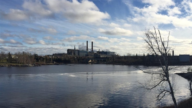L'usine Tembec de Kapuskasing