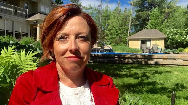 Karen Desrosiers espère que son témoignage permettra de faire disparaître les préjugés.