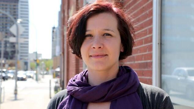 L'auteure Katherena Vermette