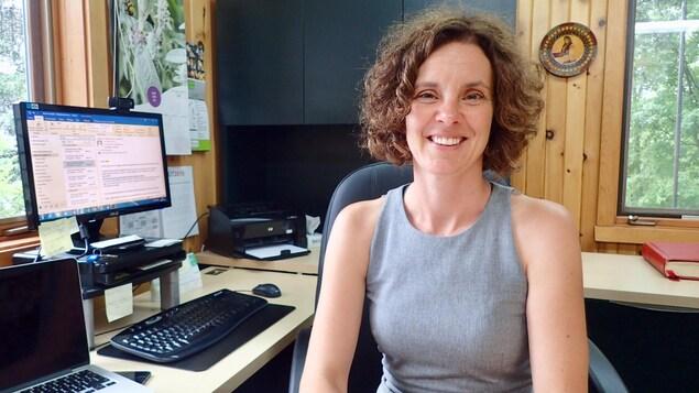 La mairesse de Val-David, Kathy Poulin