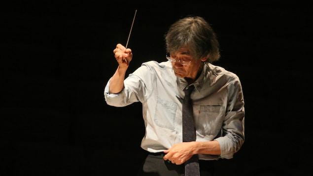 Maestro Kent Nagano, le chef d'orchestre de l'Orchestre symphonique de Montréal.