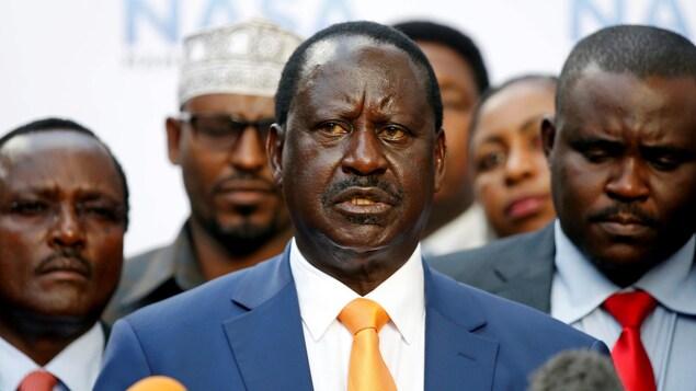 Le leader de l'opposition kényane Raila Odinga