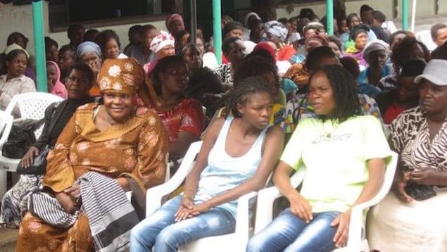 Femmes du Kenya qui participent au programme Sex Workers Outreach Program de l'Université du Manitoba