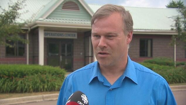 Kevin Rice, directeur général de TransAqua.
