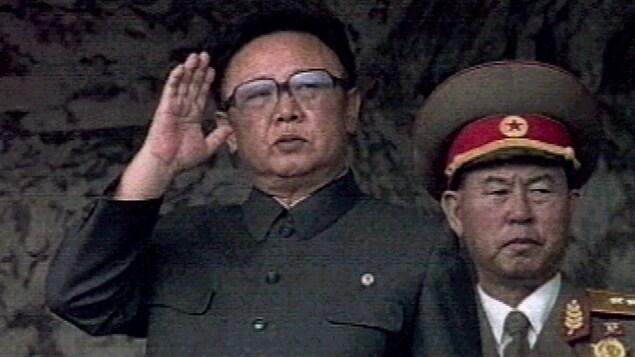 Kim Jong-il, ancien dictateur de la Corée du Nord