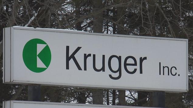 Une pancarte de Kruger
