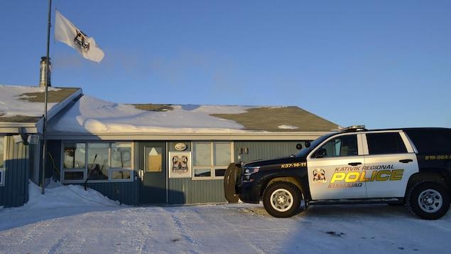 Les locaux du corps de police.