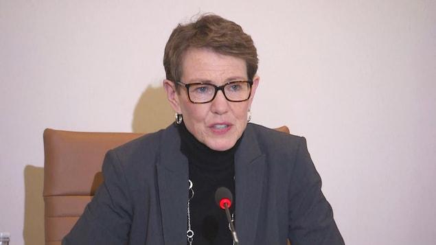 La commissaire aux langues officielles du Nouveau-Brunswick, Shirley MacLean