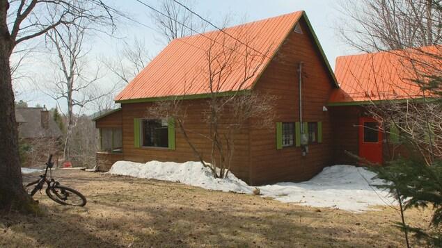La maison à la campagne.