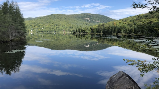 Le lac Durand en été