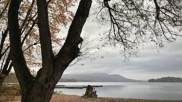 Le lac Massawippi.