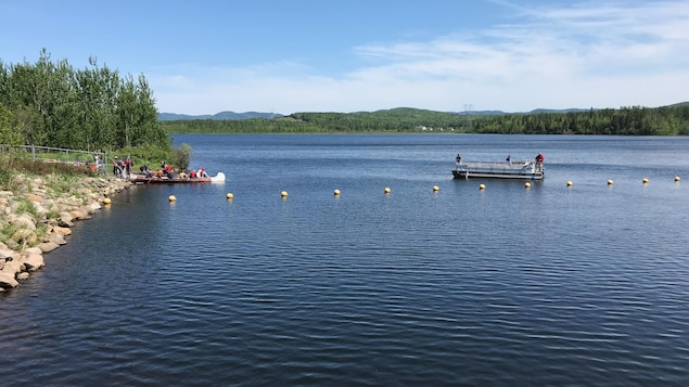 Le lac Saint-Charles est la principale source d'eau potable des résidents de la région de Québec.