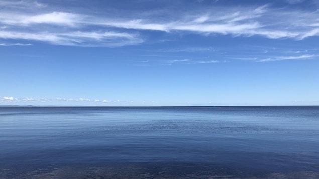 Le lac Saint-Jean.