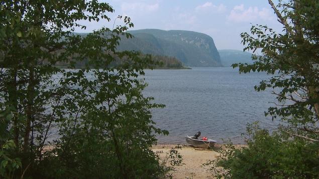Le lac Walker, sur la Côte-Nord