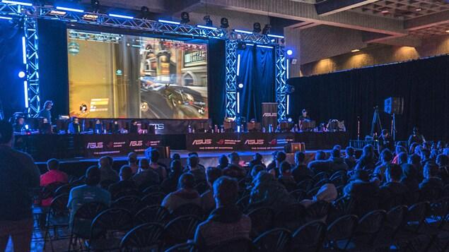 Finale du jeu «Overwatch» lors de la compétition Lan ETS
