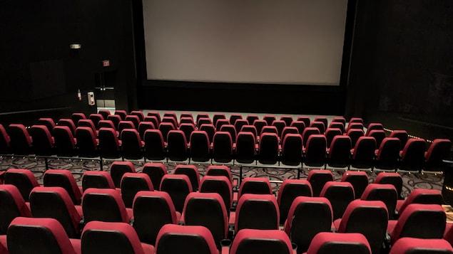 Sièges de cinémas.